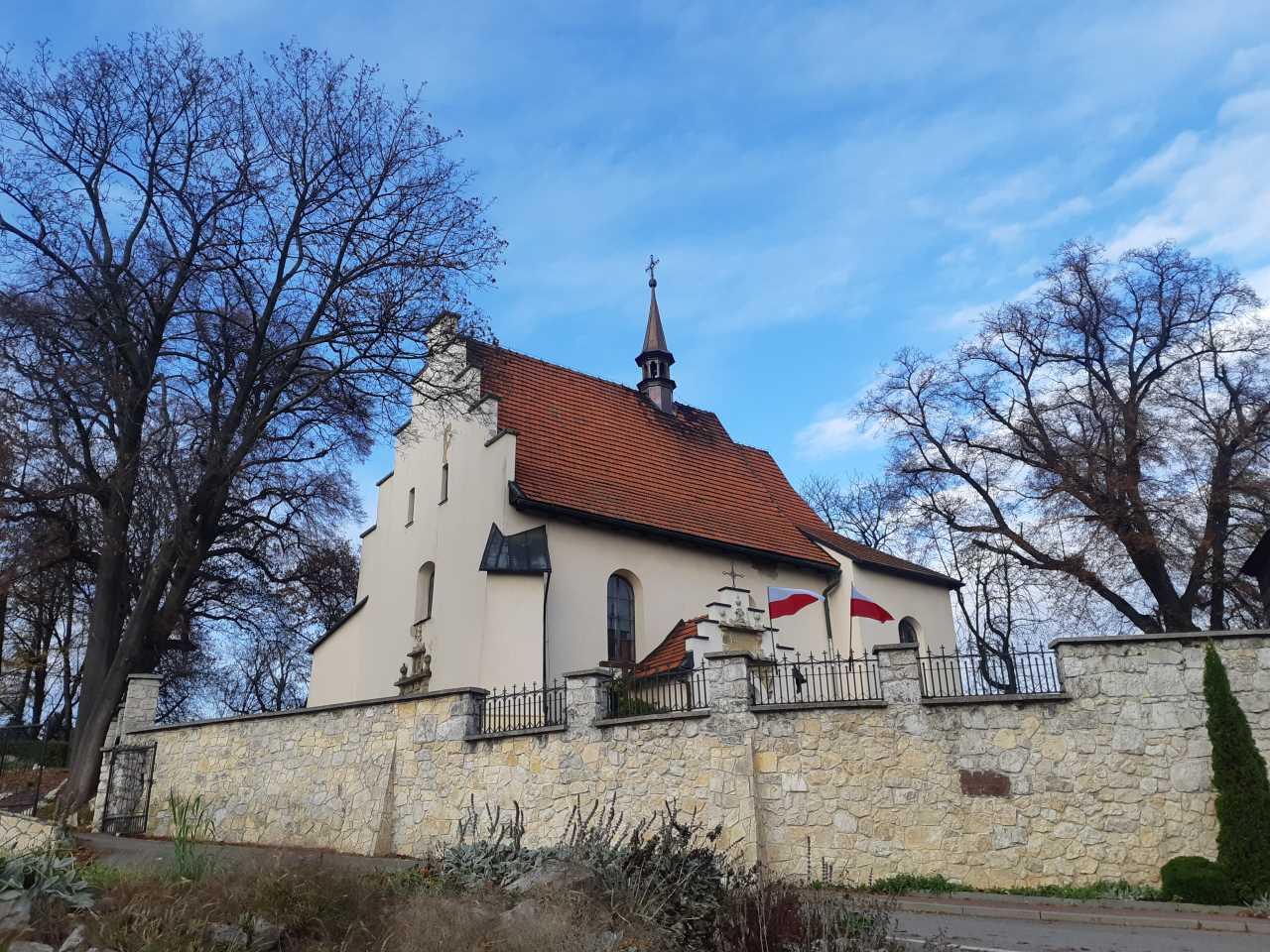 Zamek Korzkiew - Atrakcje -  Kościół w Giebułtowie XVI w.