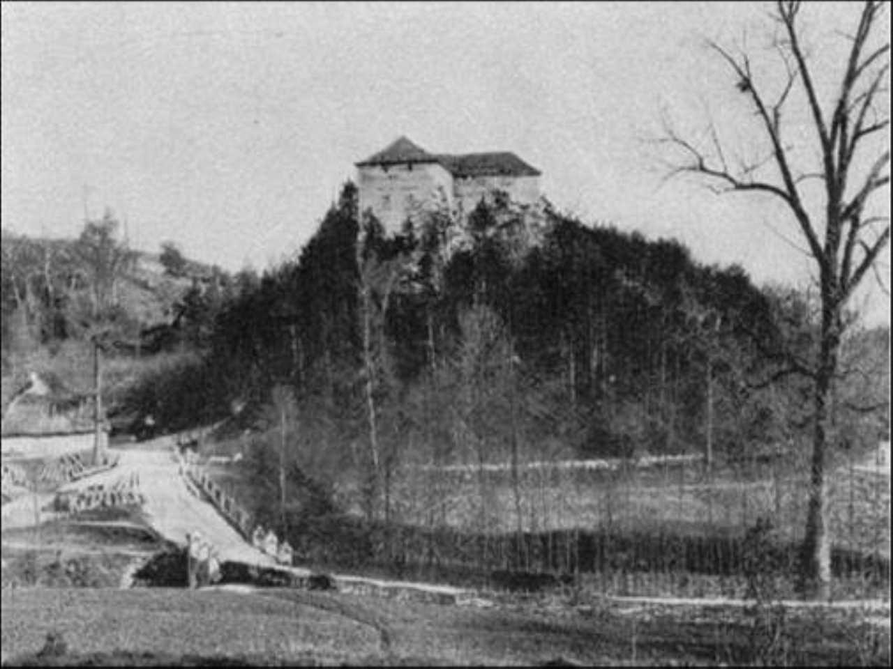 Zamek Korzkiew - Historia